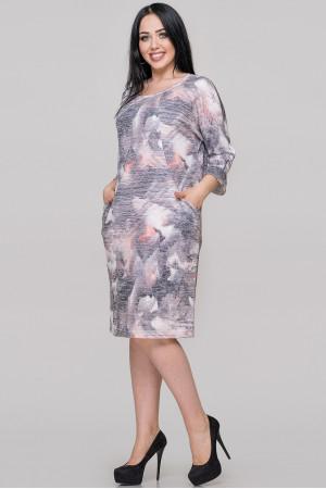 Платье «Шания» фиолетового цвета