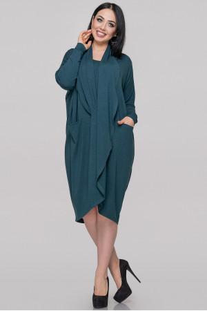 Сукня «Ліза» темно-зеленого кольору