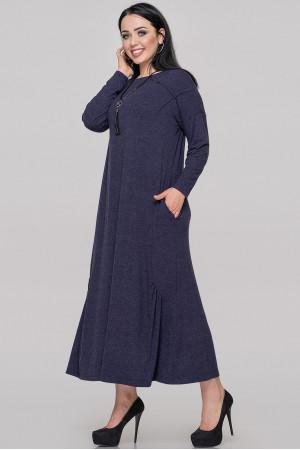 Платье «Сейдо» темно-синего цвета