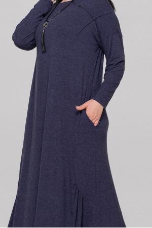 Сукня «Сейдо» темно-синього кольору