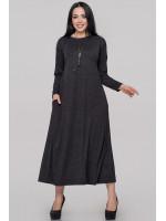 Сукня «Сейдо» темно-сірого кольору