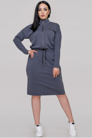 Платье «Лиззи» цвета джинс