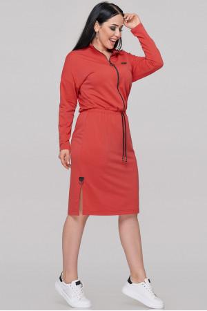 Платье «Лиззи» красного цвета