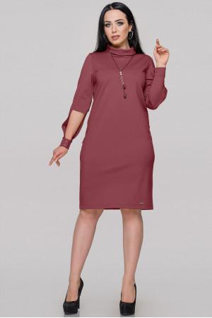 Платье «Урсула» бордового цвета