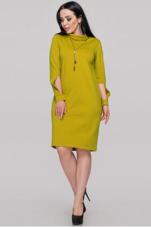 Платье «Урсула» горчичного цвета