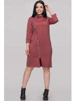 Сукня «Вінон» бордового кольору