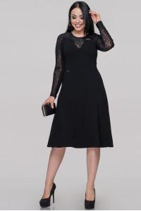 Сукня «Ева» чорного кольору