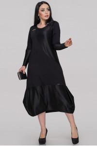 Платье «Шарлотта» черного цвета