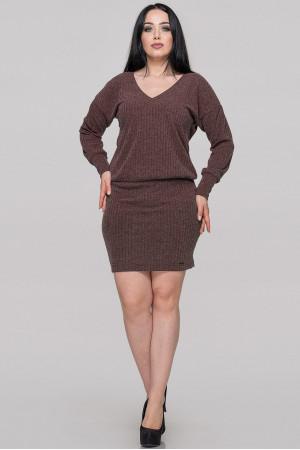 Сукня «Редо» коричневого кольору