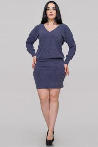 Платье «Редо» синего цвета