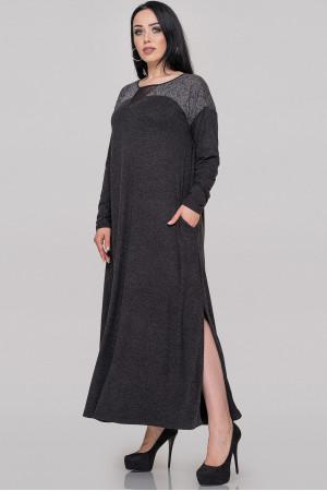 Сукня «Рікель» темно-сірого кольору