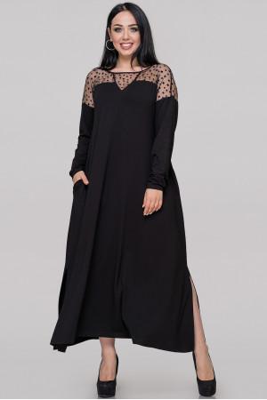 Платье «Габи» черного цвета