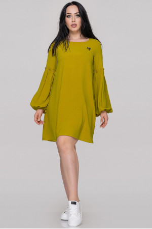 Сукня «Ізета» гірчичного кольору