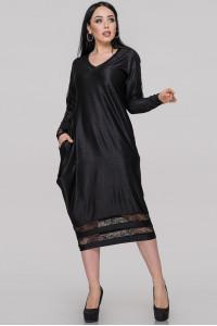 Платье «Наля» черного цвета