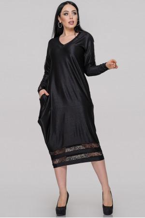 Сукня «Наля» чорного кольору
