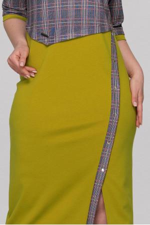 Сукня «Біллі» гірчичного кольору