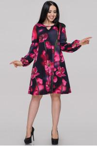 Платье «Севилла» с цветочным принтом