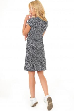Сукня «Аліна» чорно-біла