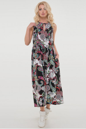 Сукня «Беата» чорного кольору