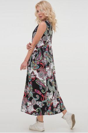 Платье «Беата» черного цвета