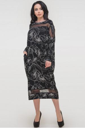 Сукня «Бігольд» чорного кольору