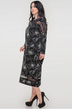 Платье «Бигольд» черного цвета