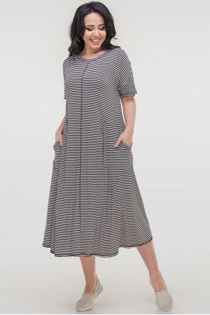 Сукня «Даркі» чорно-біла