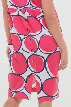 Сукня «Арета» з рожевим принтом