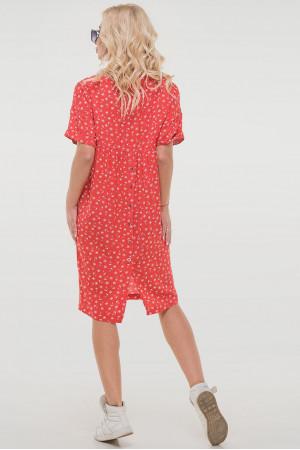 Сукня «Арета» червоного кольору
