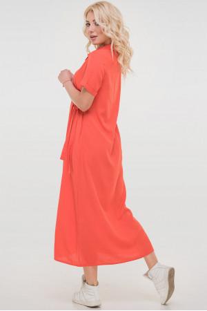 Сукня «Адді» коралового кольору