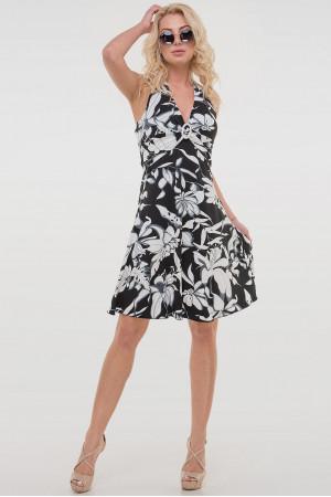 Сукня «Вінонна» чорно-біла