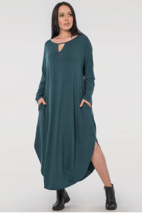 Платье «Николь» зеленого цвета