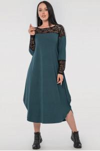 Сукня «Брая» зеленого кольору