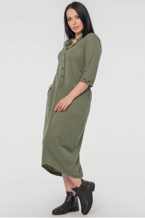 Сукня «Кінга» кольору хакі