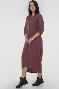 Сукня «Кінга» шоколадного кольору