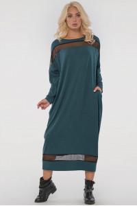 Платье «Бигольд» зеленого цвета