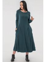 Платье «Ханна» зеленого цвета