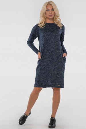 Сукня «Лойс» синього кольору