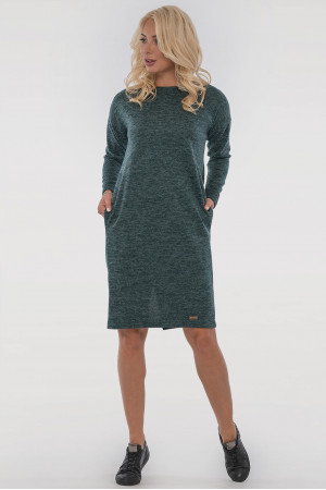 Платье «Лойс» зеленого цвета
