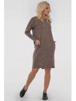 Сукня «Лойс» кольору капучино