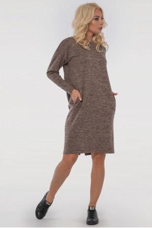 Платье «Лойс» цвета капучино