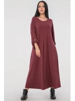 Сукня «Калхида» бордового кольору
