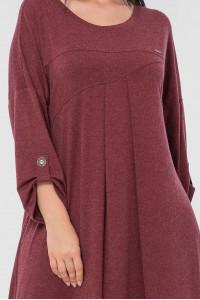 Сукня «Калхіда» бордового кольору