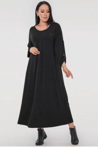 Платье «Калхида» темно-серого цвета