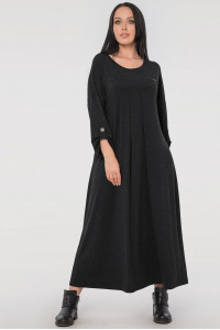 Сукня «Калхіда» темно-сірого кольору