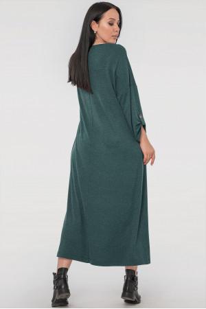 Платье «Калхида» зеленого цвета