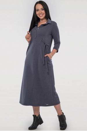 Платье «Рута» синего цвета
