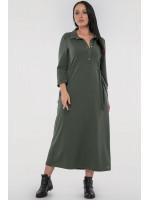 Платье «Рута» цвета хаки