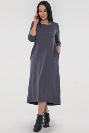 Платье «Виктория» цвета джинс