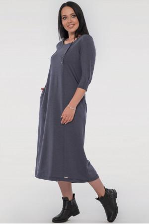 Сукня «Вікторія» кольору джинс